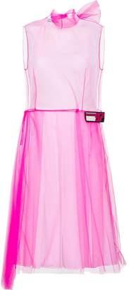 Prada sleeveless tulle dress
