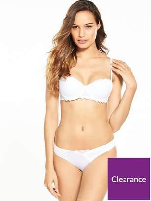 Wonderbra Modern Chic Balconette Bra - White