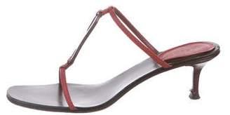 Gucci Karung Slide Sandals