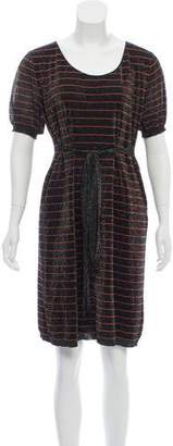 Sonia Rykiel Knee-Length Short Sleeve Dress