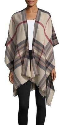 Lord & Taylor Plaid Wrap