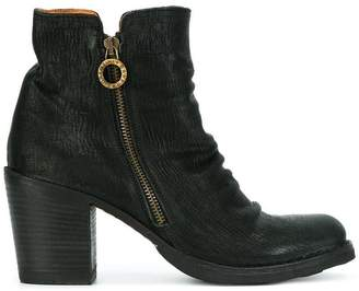 Fiorentini+Baker crease effect zip ankle boots