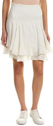 A.L.C. Vera Silk Mini Skirt