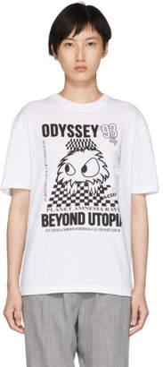 McQ White Boyfriend T-Shirt