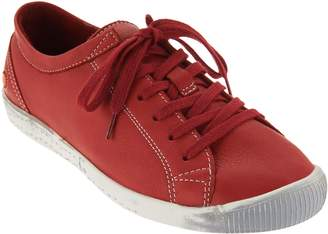 Fly London Softinos by Leather Lace-up Sneakers - Isla