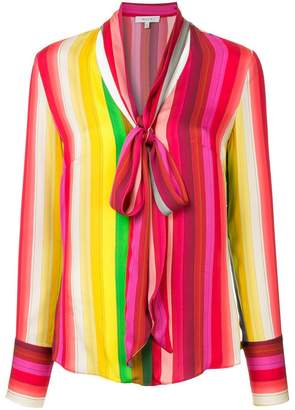 Milly tied neck blouse