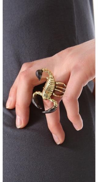 Monserat De Lucca Scorpio Ring
