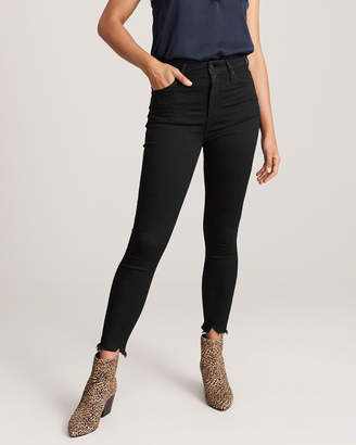 Abercrombie & Fitch High Rise Ankle Jeans