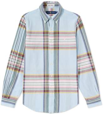 Polo Ralph Lauren Madras Button Down Shirt