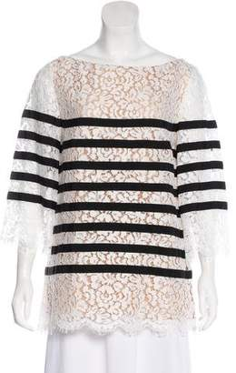 Michael Kors Lace Long Sleeve Top w/ Tags