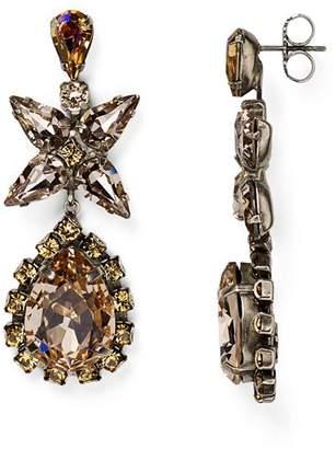 Sorrelli Swarovski Crystal Teardrop Earrings