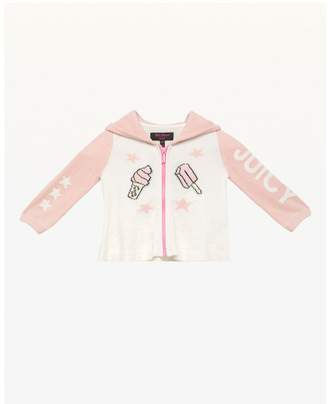 Juicy Couture Ice Cream Cone Sweater Jacket for Baby