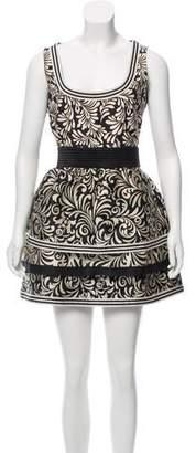 Ungaro Printed Sleeveless Dress