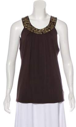 MICHAEL Michael Kors Sleeveless Embellished Top w/ Tags