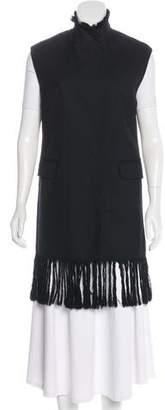 3.1 Phillip Lim Fringe Wool Vest