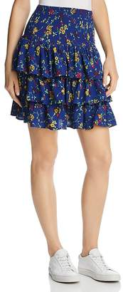 Maje Jalao Tiered Ruffled Floral Skirt - 100% Exclusive