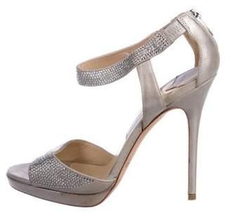 Jimmy Choo Suede High-Heel Sandals Suede High-Heel Sandals