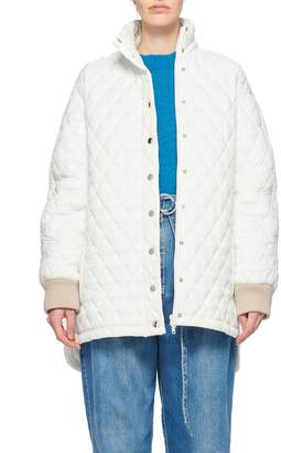 Tibi Soft Quilting Quilted Carcoat