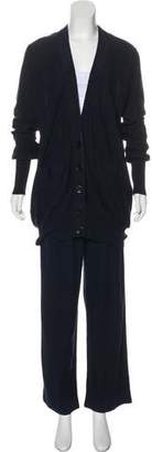 Sonia Rykiel Knit Cardigan Pant Set
