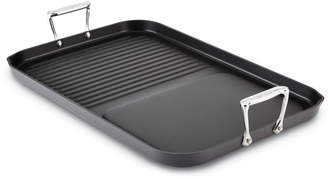 All-Clad Hard-Anodized Two-Burner Combo Grill/Griddle