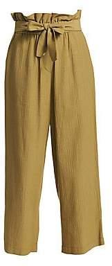 3.1 Phillip Lim Women's Cropped Paperbag Pants - Size 0