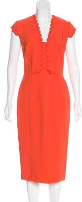 Antonio Berardi Crepe Sheath Dress