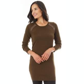 Apt. 9 Women's Embellished Tunic Sweater