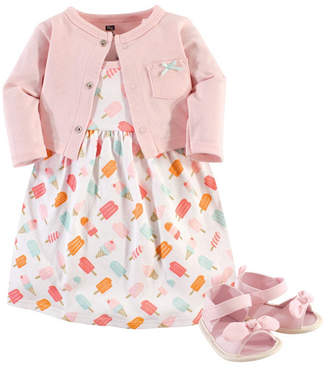 Baby Vision Hudson Baby Dress, Cardigan and Shoes, 3-Piece Set, 0-18 Months