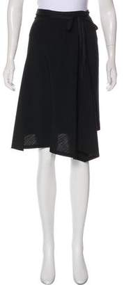 Ann Demeulemeester Wool Knee-Length Skirt