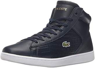 Lacoste Women's Carnaby Evo Mid G316 1 Fashion Sneaker $63.32 thestylecure.com