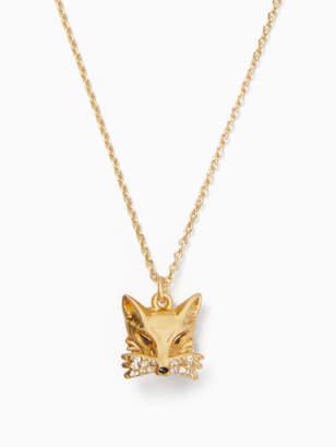 Kate Spade SO FOXY fox mini pendant