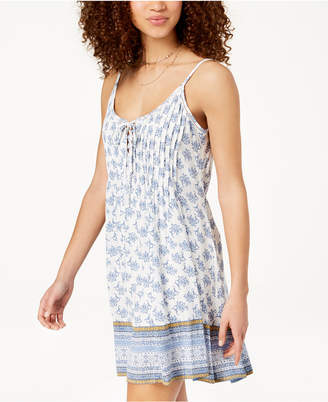 American Rag Juniors' Printed Slip Dress, Created for Macy's