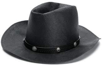 HTC Los Angeles embellished panama hat
