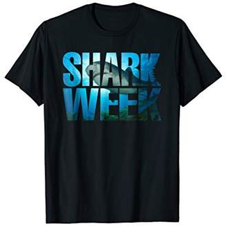 New 2018 Novelty Graphic Week of The Shark T-Shirt