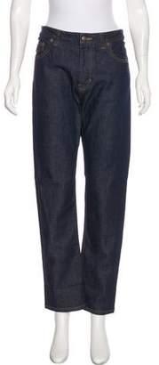 Steven Alan Straight-Leg Mid-Rise Jeans