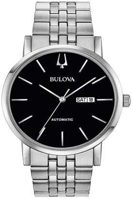 Bulova Men's Stainless Classic Automatic Bracelet Watch