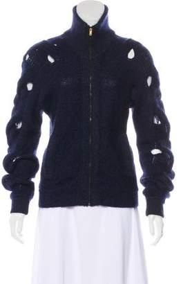 MM6 MAISON MARGIELA Cutout Knit Sweater