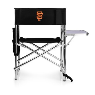 Picnic Time San Francisco Giants Sports Side Table Chair
