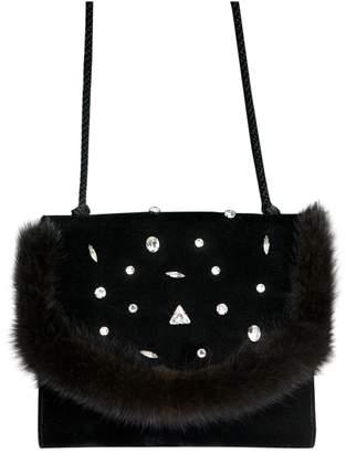 Jean Louis Scherrer Velvet handbag