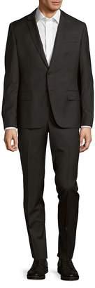 Pierre Balmain Men's Solid Narrow Fit Wool Suit