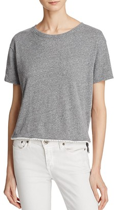 Nation LTD High/Low Pom Tee - 100% Exclusive $65 thestylecure.com