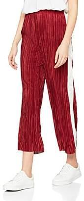 New Look Women's 5655800 Trousers, (Green Pattern)
