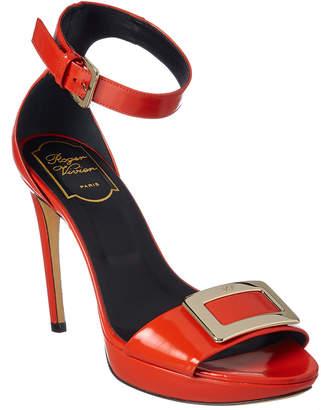 Roger Vivier Patent Sandal