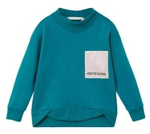 MANGO High collar sweatshirt