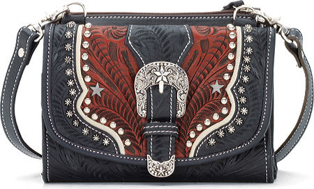 American West Women's American West Texas Two Step Wallet/Bag