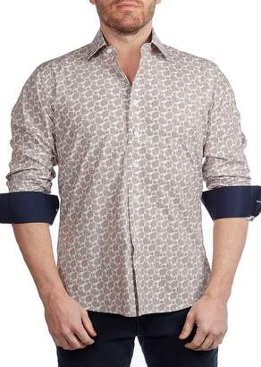 Levinas Gingham Contemporary Fit Shirt