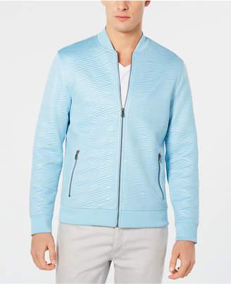 INC International Concepts I.n.c. Men Slick Jacquard Jacket