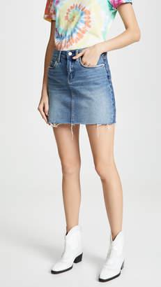 Blank Two Faced Denim Skirt