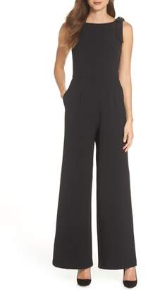Julia Jordan Shoulder Bow Jumpsuit
