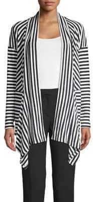 Jones New York Mixed-Stripe Cardigan